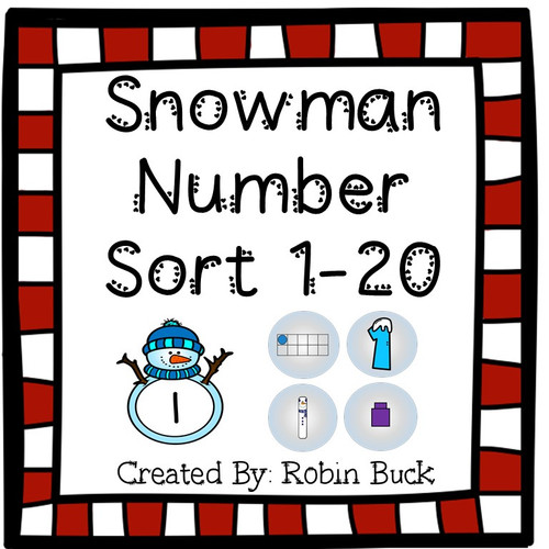 Snowman Number Sort