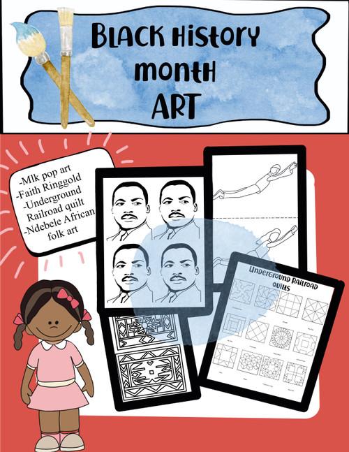 Black History Month ART BUNDLE
