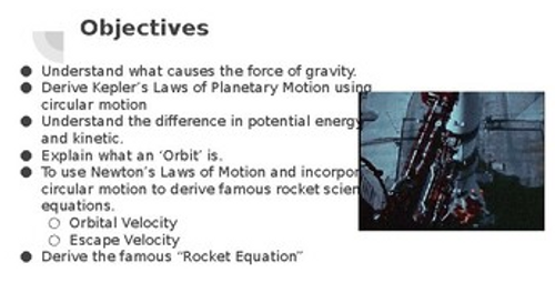 The Ultimate Rocket Science & Gravity Powerpoint (Pptx)