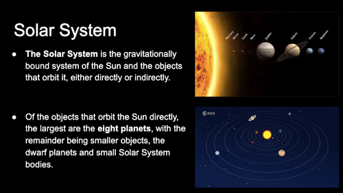 Solar System Formation & Areas (PowerPoint)