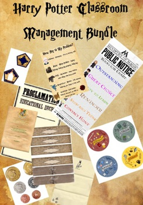 Harry Potter Classroom Management Bundle