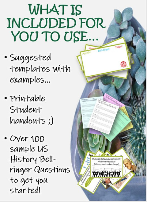 Daily Bell Ringers, printables, samples and more
