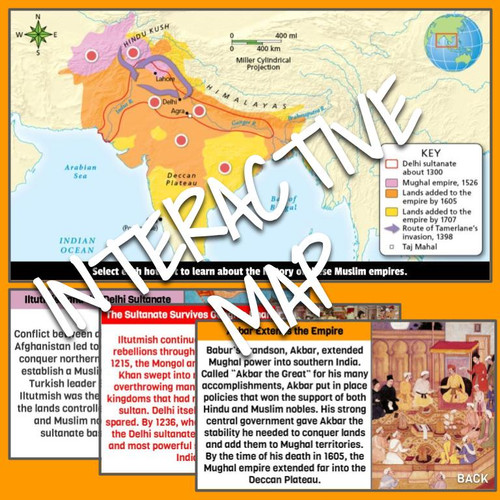 The Delhi Sultanate and the Mughal Empire