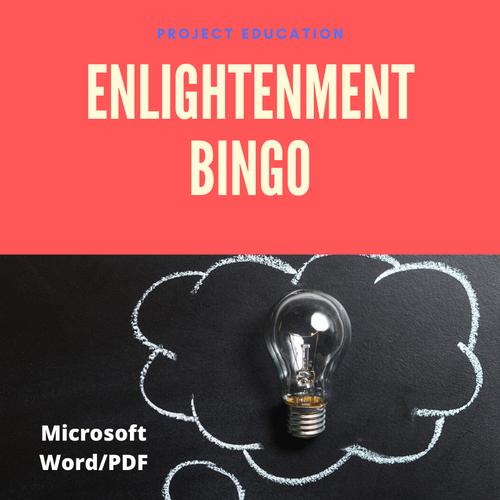 Age of Enlightenment Bingo