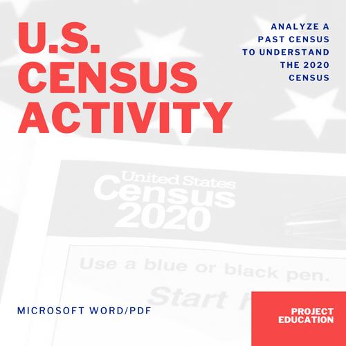 United States Census Activity