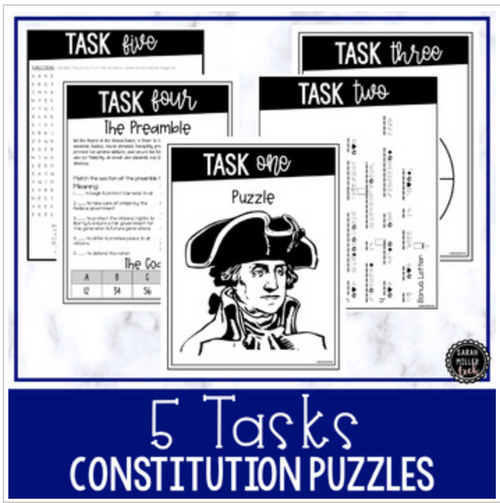 Constitution Themed Escape Room