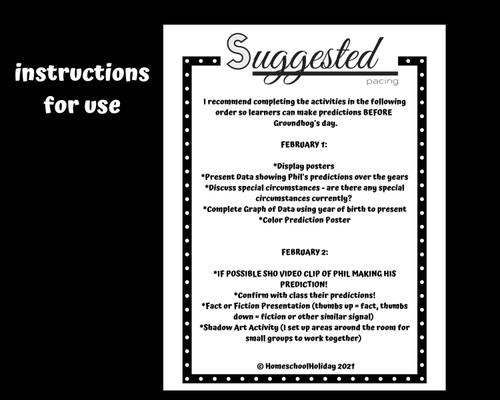 Groundhog Day  Groundhog Prediction & Fun Facts Presentation Activities Google Slides