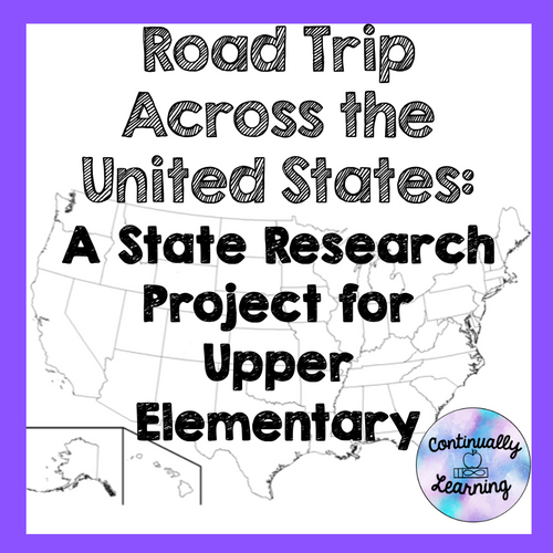 State Research Project for Upper Elementary