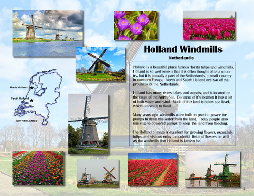 Famous Landmarks & Wonders of the World - Vol. 3 - Geography - with ebook & Bingo game!