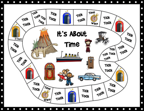 A Telling Time Game - Time Travel