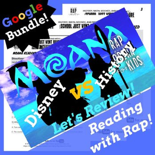 Google Forms Activities for Reading  Comprehension Using Moana Parody Song