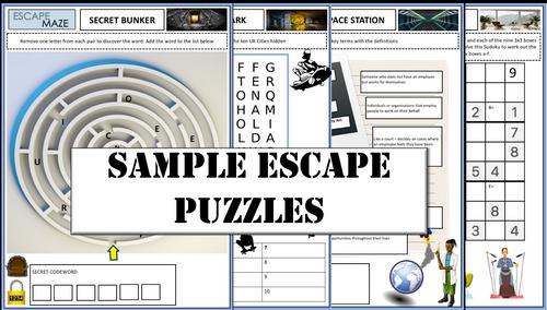 Map Reading Escape Room