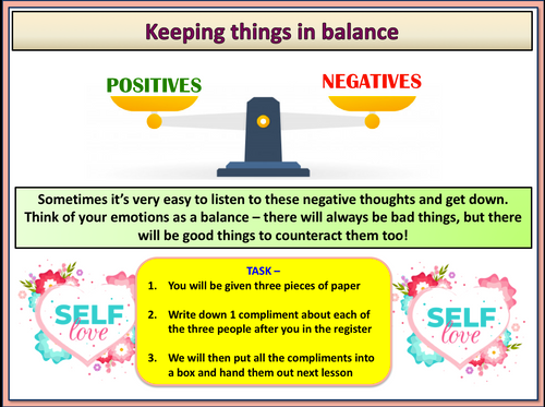 Being Positive Lesson