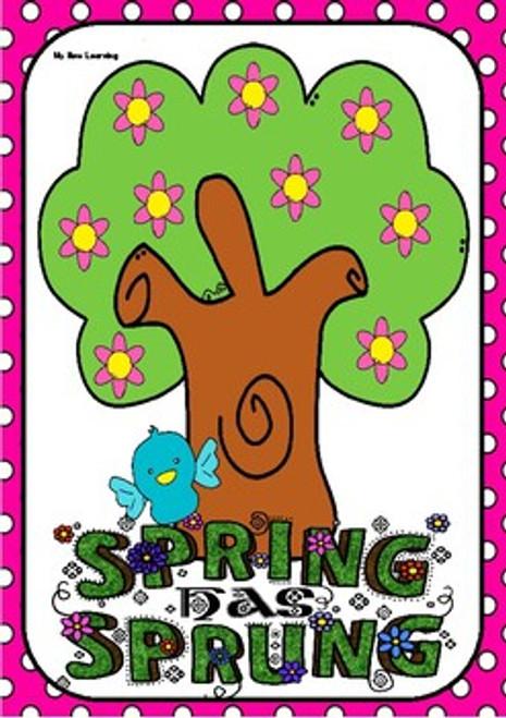 Four Seasons Flashcards- Version 1