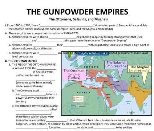 Muslim Gunpowder Empires
