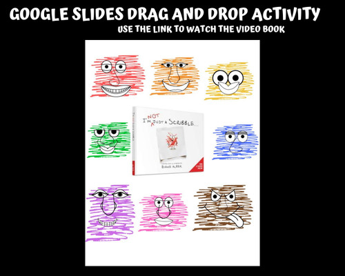 National Scribble Day Activities Drag & Drop Google Slides complete the picture