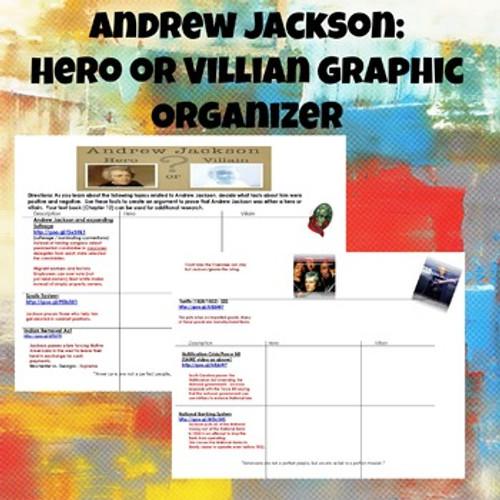 Andrew Jackson Hero or Villain