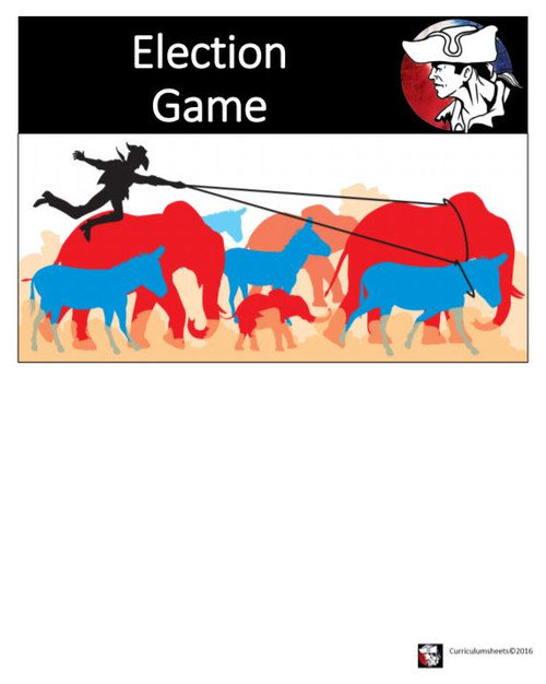 Government - The Election Game (Cooperative Learning Activity)