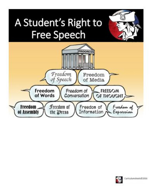 A Student's Right to Free Expression