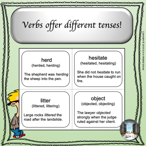 Power Words! Vocabulary Building Flashcards and Word Wall Set 4