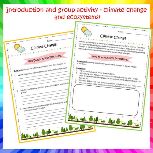 Climate Changes and Ecosystems