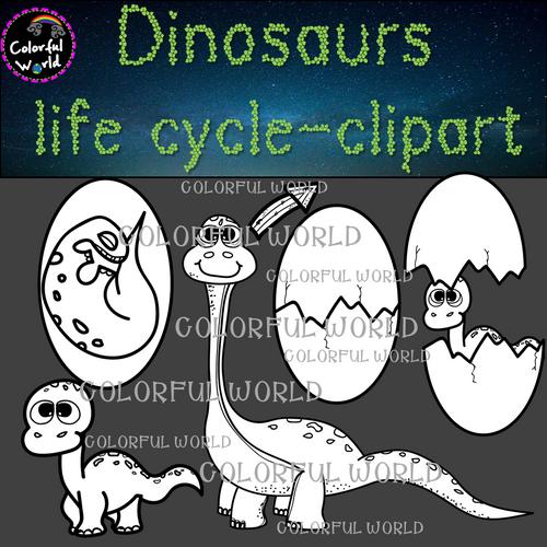 Dinosaur life cycle