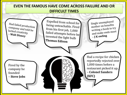 From Failure To Success - Character Education