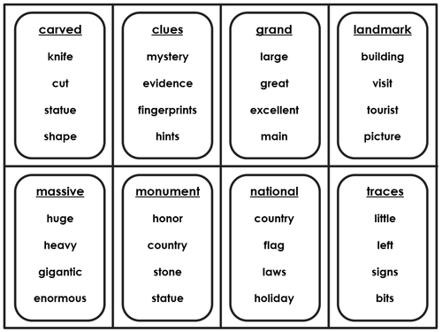 It is a picture of Taboo Cards Printable for easy