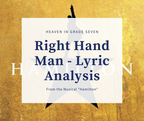 """Right Hand Man"" Lyric Analysis"