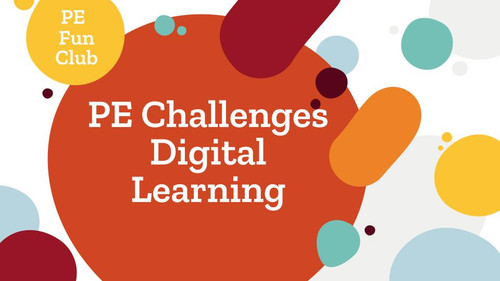 PE Challenges - 10 Digital Learning Google Slides Lessons - Student tested, (and loved!) variety of lesson, easy for you, and no prep activities for kinder to 8th grade. Send a google slide (or two) per week to your students. These lessons are simple (KISS) so following directions at home is easy. PE is only enrichment at your school, no problem, these activities will get your students wanting to participate!  After this is all over (hopefully soon), use these slides as Instant Warm-up Activities. All easily editable for your needs.
