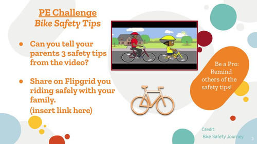 Bike Safety Lesson