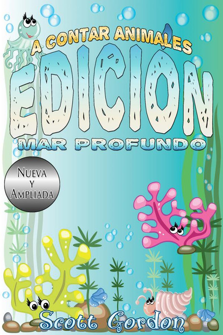 Cover - A Contar Animales: Edición Mar Profundo (Spanish Edition)