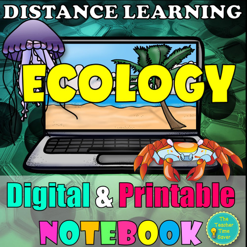 Ecology Symbiosis Carrying Capacity Biology Notebook