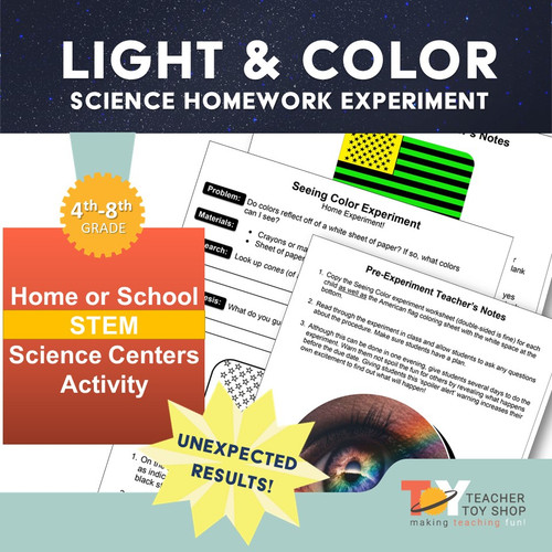 Light and Color Science Activity