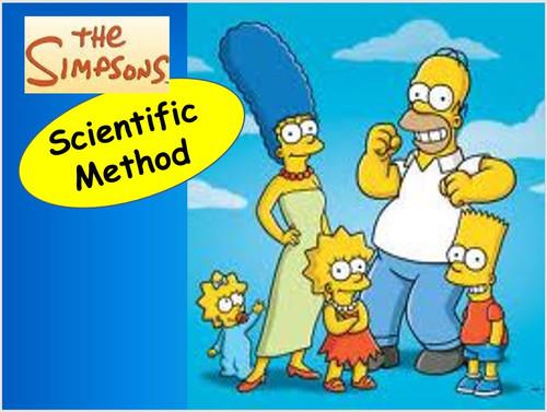 Simpson's Scientific Method PowerPoint