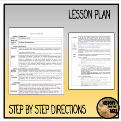 The Constitution Lesson Plan