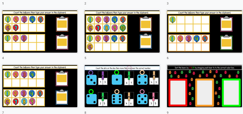 Let's Practice Counting! **Google Slides**