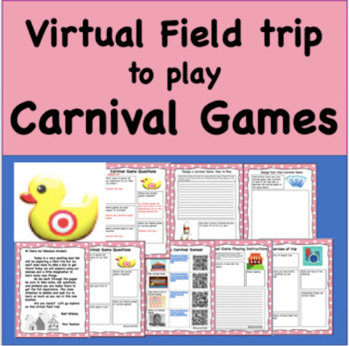 Virtual Field Trip to the  Carnival- Play and Create Carnival Games