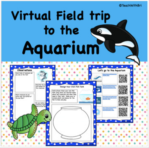 Virtual Field Trip to the Aquarium