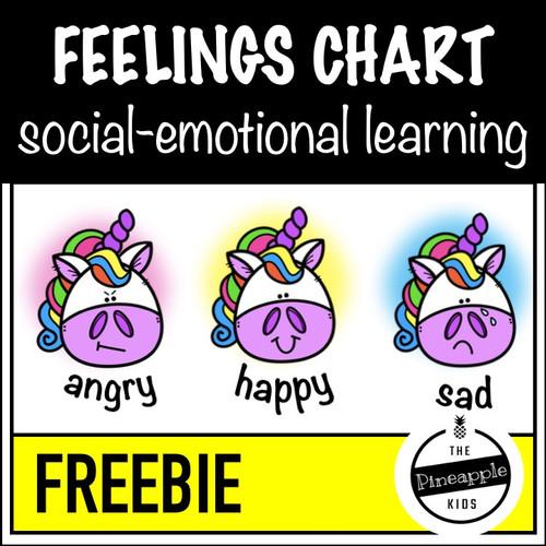 Feelings Chart - FREE