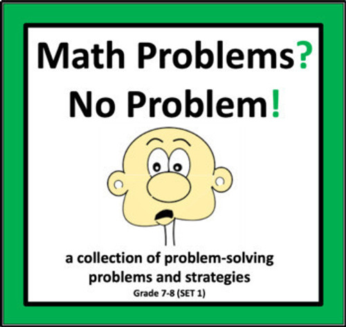 Math Problems? No Problem! (Set 1)
