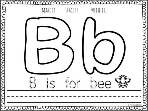 Alphabet Playdough Mats- FREE
