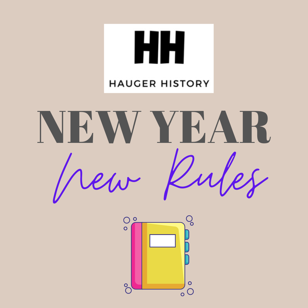 New Year, New Rules - Back to School Blog from a Distance