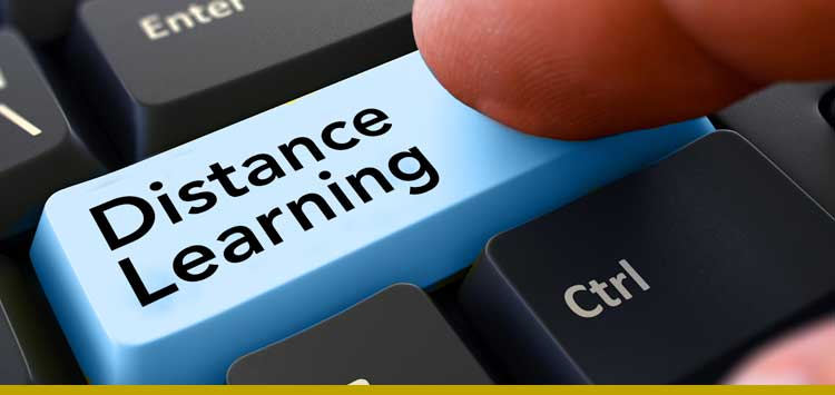 Some Thoughts About Distance Learning