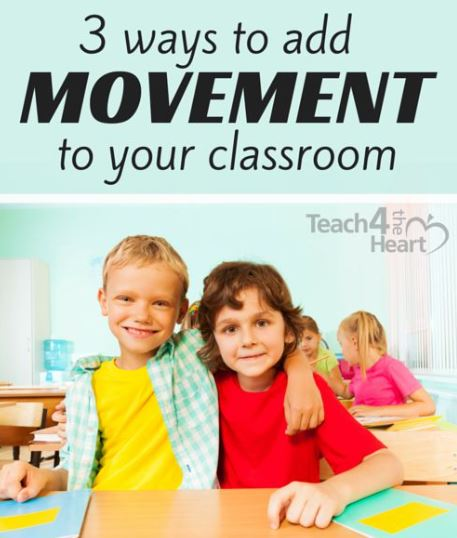Using Movement to Engage Students