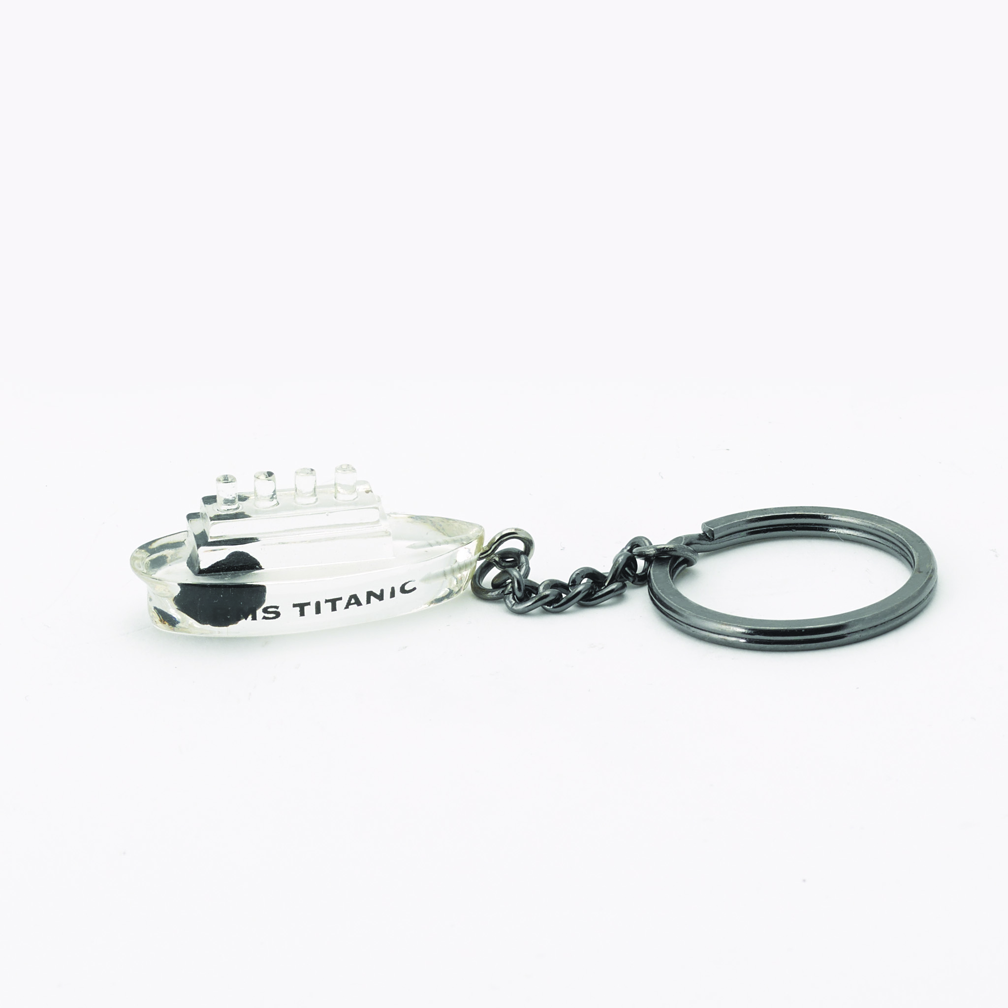 Coal Keyring Ship Shape