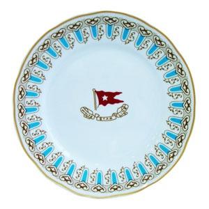 Wisteria salad plate