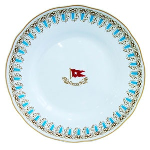Wisteria soup bowl