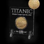 Goldtone Coin Acrylic Grand St