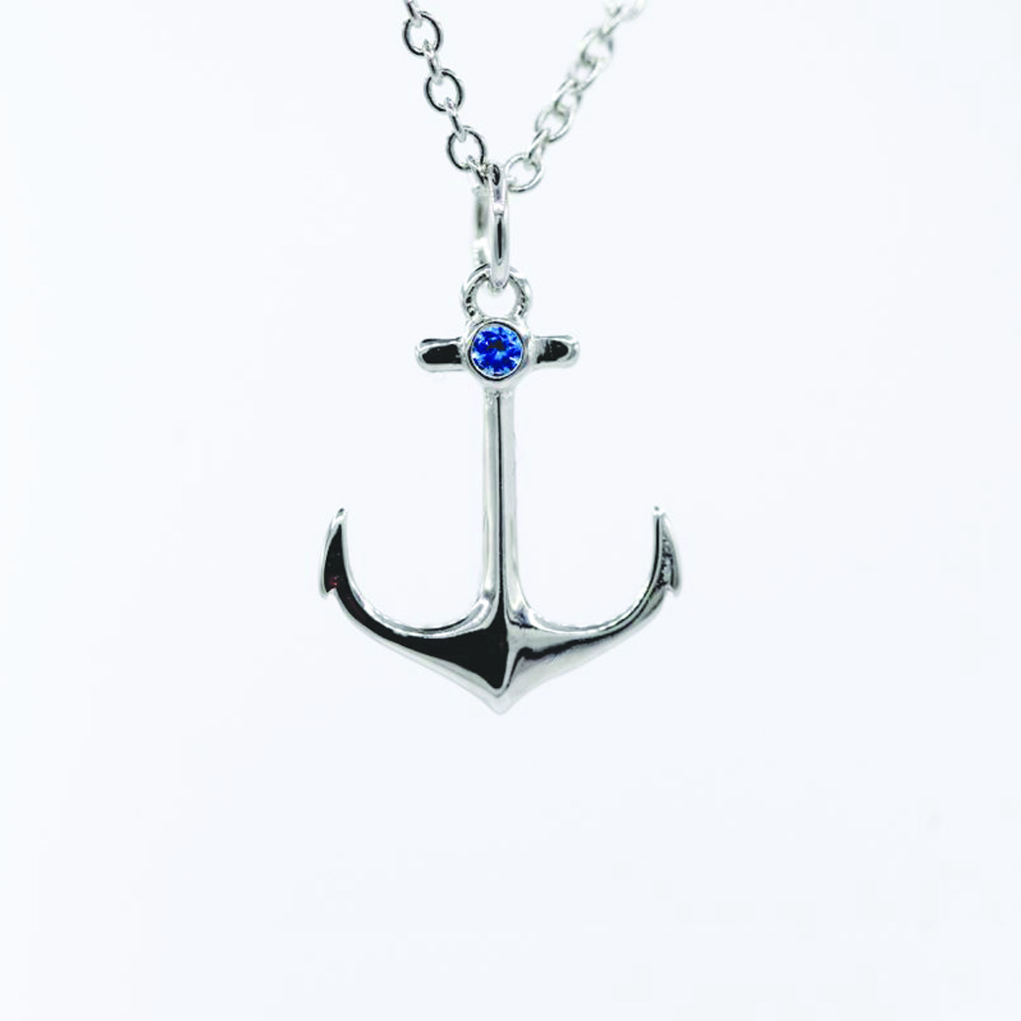 Anchor Necklace Swarovski